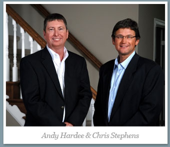 Our Company - Any Hardee and Chris Stephens